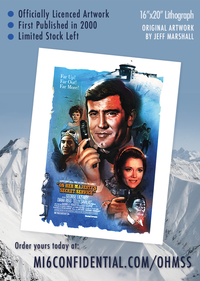 James Bond print artwork available for sale