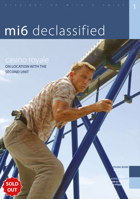 Issue 1 of MI6 Confidential, James Bond Magazine