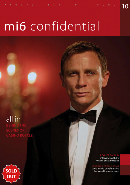 Issue 10 of MI6 Confidential, James Bond Magazine