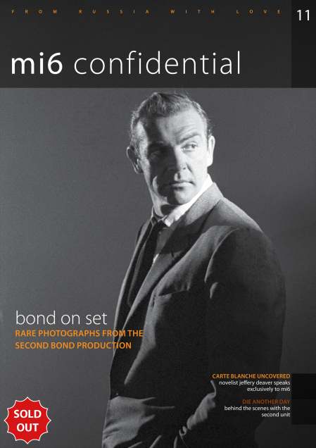 Issue 11 of MI6 Confidential, James Bond Magazine