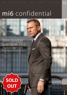 Issue 15 of MI6 Confidential, James Bond Magazine