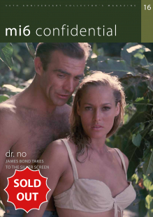 Issue 16 of MI6 Confidential, James Bond Magazine