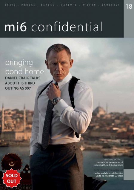 Issue 18 of MI6 Confidential, James Bond Magazine