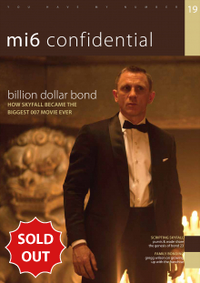 Issue 19 of MI6 Confidential, James Bond Magazine