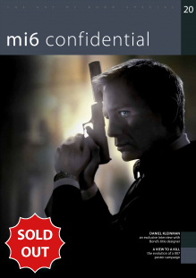 Issue 20 of MI6 Confidential, James Bond Magazine