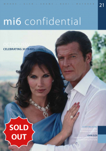 Issue 21 of MI6 Confidential, James Bond Magazine