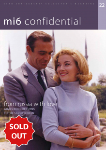 Issue 22 of MI6 Confidential, James Bond Magazine