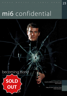 Issue 23 of MI6 Confidential, James Bond Magazine