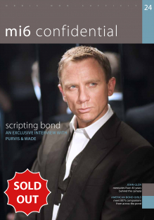 Issue 24 of MI6 Confidential, James Bond Magazine
