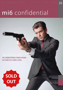 Issue 25 of MI6 Confidential, James Bond Magazine