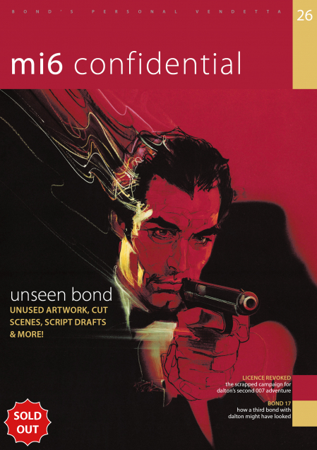 Issue 26 of MI6 Confidential, James Bond Magazine