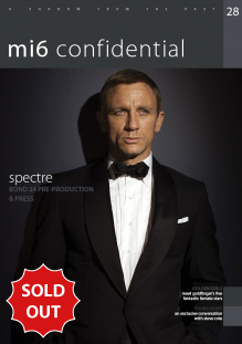 Issue 28 of MI6 Confidential, James Bond Magazine