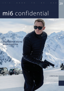 Issue 29 of MI6 Confidential, James Bond Magazine