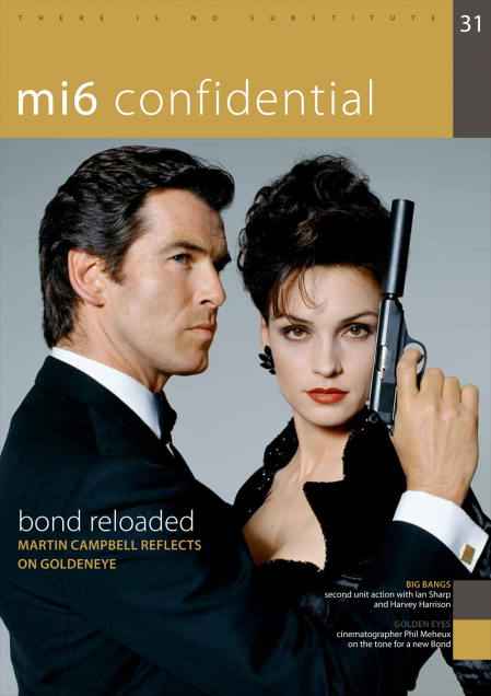 Issue 31 of MI6 Confidential, James Bond Magazine