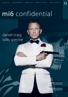Issue 33 of MI6 Confidential, James Bond Magazine
