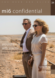 Issue 34 of MI6 Confidential, James Bond Magazine