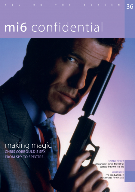 Issue 36 of MI6 Confidential, James Bond Magazine