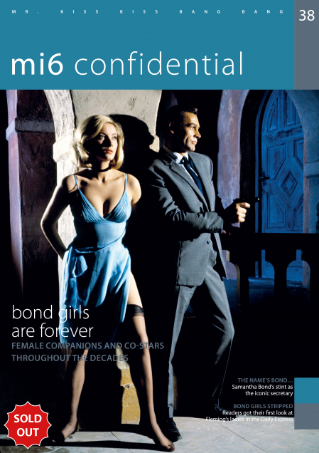 Issue 38 of MI6 Confidential, James Bond Magazine