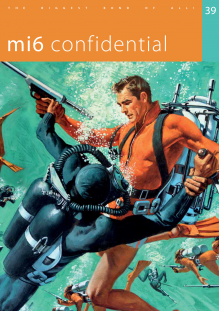 Issue 39 of MI6 Confidential, James Bond Magazine