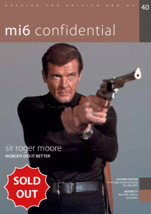 Issue 40 of MI6 Confidential, James Bond Magazine