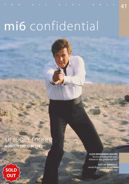 Issue 41 of MI6 Confidential, James Bond Magazine