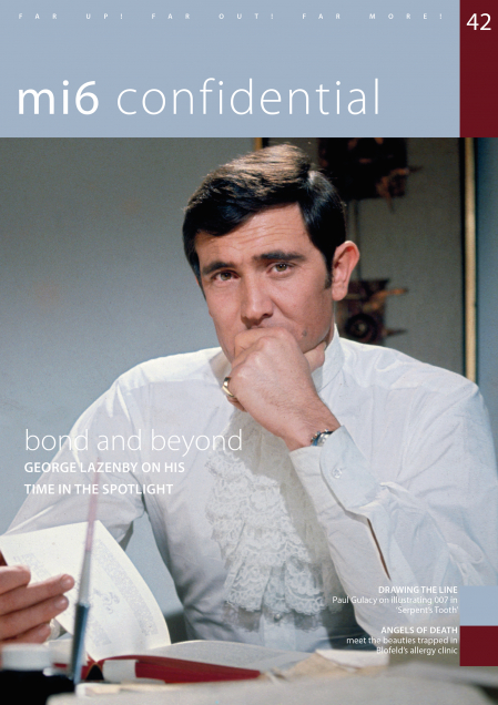 Issue 42 of MI6 Confidential, James Bond Magazine