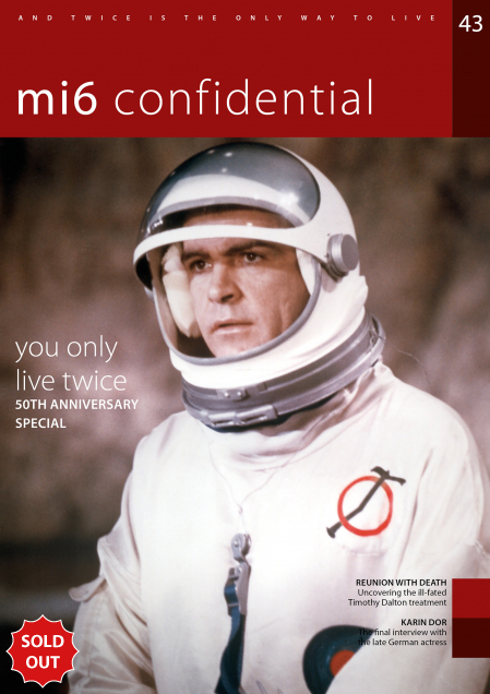 Issue 43 of MI6 Confidential, James Bond Magazine