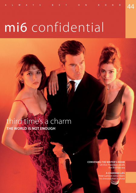 Issue 44 of MI6 Confidential, James Bond Magazine