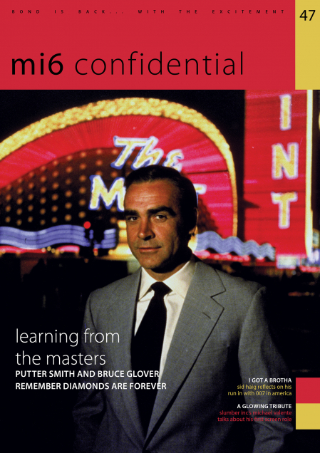 Issue 47 of MI6 Confidential, James Bond Magazine