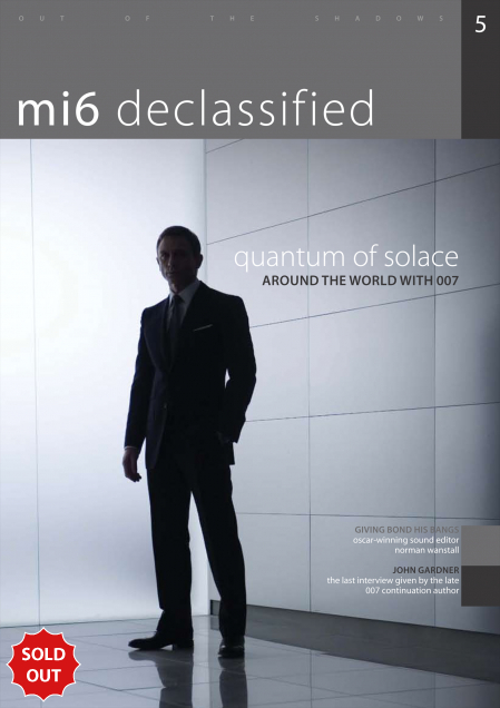 Issue 5 of MI6 Confidential, James Bond Magazine