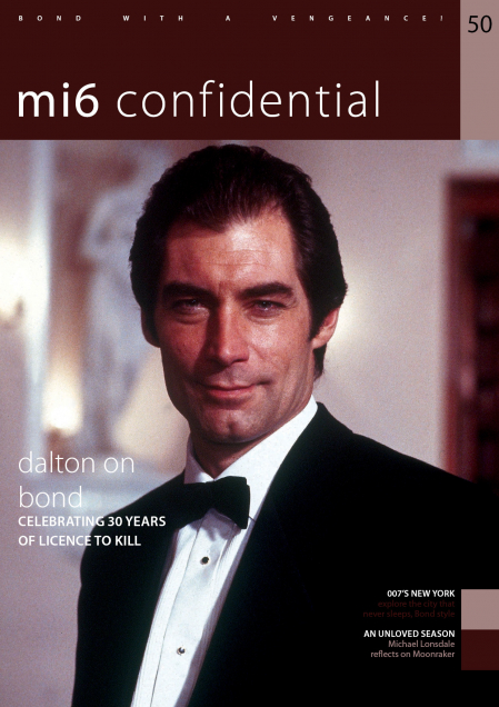 Issue 50 of MI6 Confidential, James Bond Magazine