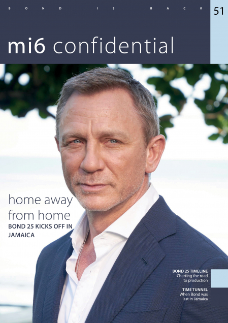 Issue 51 of MI6 Confidential, James Bond Magazine