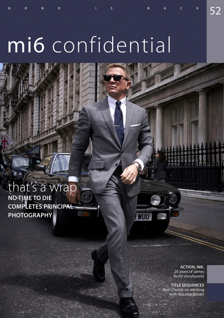 Issue 52 of MI6 Confidential, James Bond Magazine