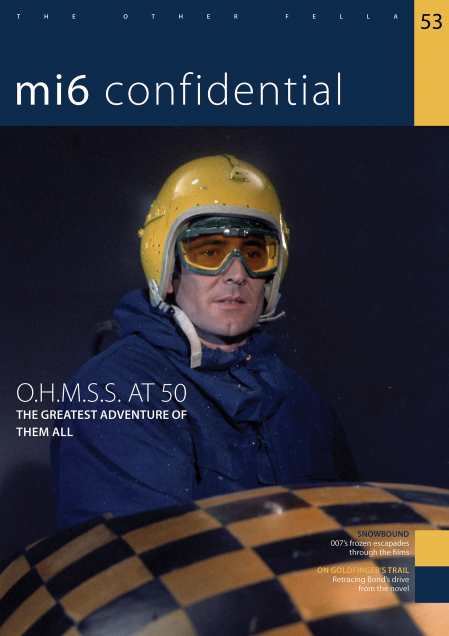 Issue 53 of MI6 Confidential, James Bond Magazine