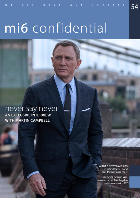 Issue 54 of MI6 Confidential, James Bond Magazine