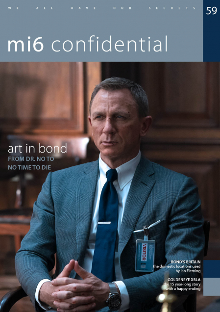 Issue 59 of MI6 Confidential, James Bond Magazine