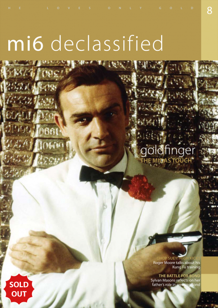 Issue 8 of MI6 Confidential, James Bond Magazine